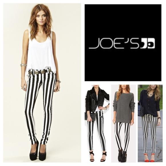 Joe's Jeans Denim - Joe's Jeans The Skinny Stripe Skinny Jeans.  NWT.