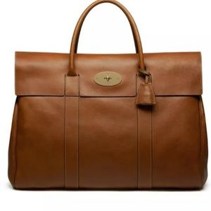 Mulberry Handbags - Authentic Mulberry Brown 'Baywater' Leather Bag