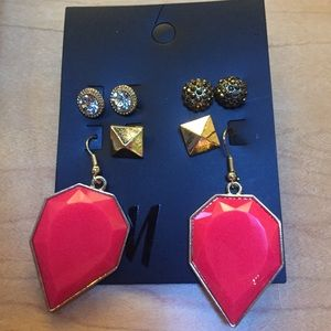 H&M earring set
