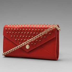 Rebecca Minkoff Handbags - NWT Rebecca Minkoff Wallet On A Chain with Studs