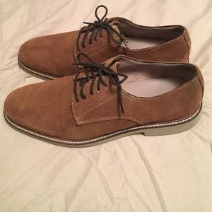 Tan Suede Shoes from Banana Republic
