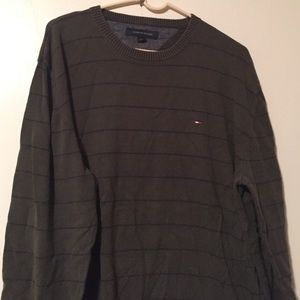 Tommy Hilfiger Other - Mens Tommy Hilfiger olive/navy sweater pullover XL