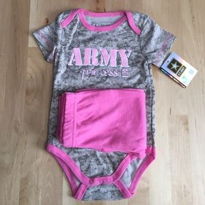 U.S. Army Other - Army Princess Onesie and Pants