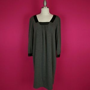 London Times Dresses & Skirts - London time size 14 grey black dress