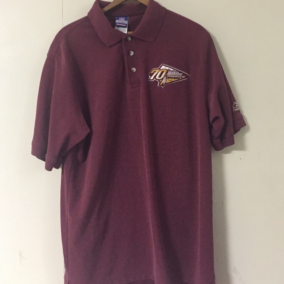 low priced fd597 af94e Nfl Washington Redskins 70th Anniversary Polo