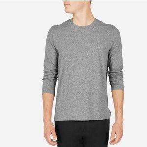 Everlane Other - Everlane men's marled long sleeve tee in grey