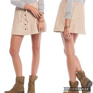HPFINAL PRICE NWT FP Vegan Leather Skirt