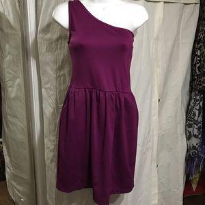 gabriella rocha Dresses & Skirts - Gabriella Rocha plum one shoulder dress