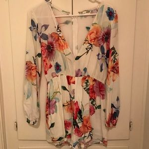 LF STORES Dresses & Skirts - Floral, colorful romper--perfect for spring!