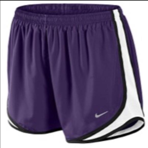nike shorts purple