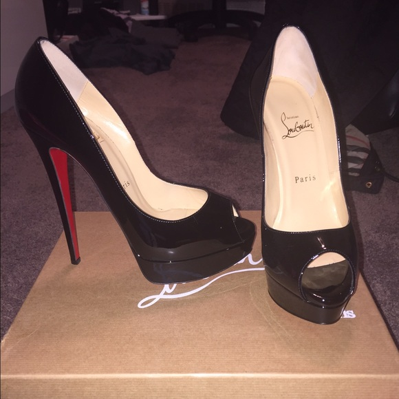 sale order Christian Louboutin Lady Peep 150 Patent Leather Pumps free shipping store footlocker online jRIjCzA