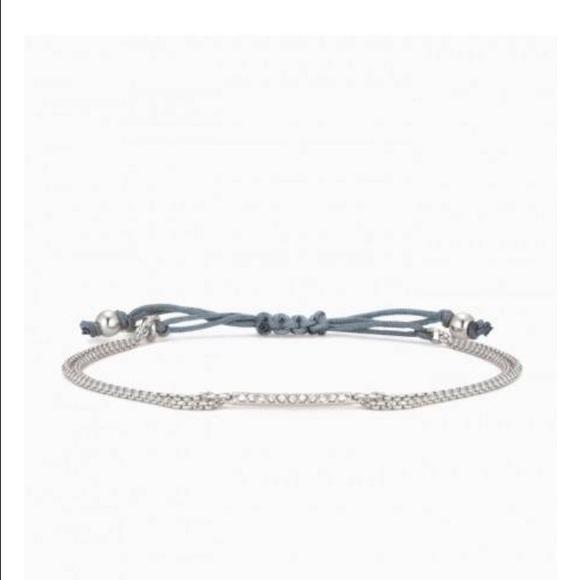Stella Dot Jewelry Stella Dot Pave Wishing Bracelet New In