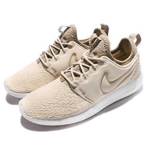 f3c7c722dc1e Nike Roshe Two SE Casual Sneakers - Oatmeal