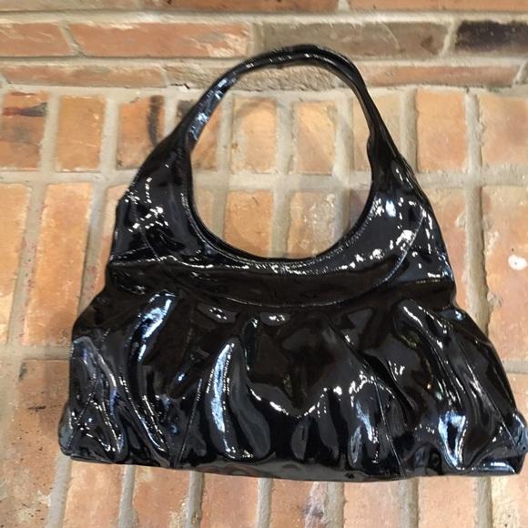 Sigrid Olsen Bags   Black Patent Hobo Bag   Poshmark 32dabb8459