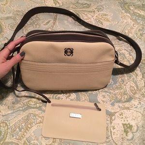 Loewe Handbags - Loewe Spanish designer purse with change purse