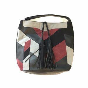 Urban Expressions Handbags - URBAN EXPRESSIONS Edison Hobo Patchwork Bag