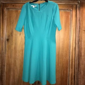 Maggy London Dresses & Skirts - Maggy London turquoise dress. Free gift with sale
