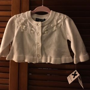 Wendy Bellissimo Other - NWT Wendy Bellissimo White Sweater size 3 Months