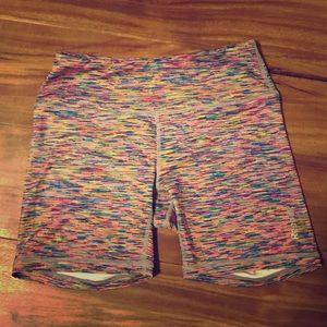 Reebok Pants - Reebok rainbow spandex 🌈