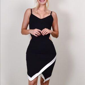 Dress. Black and white.
