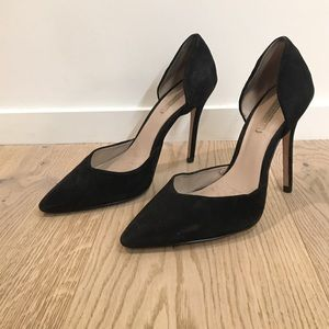 Zara Black Pointed Pumps