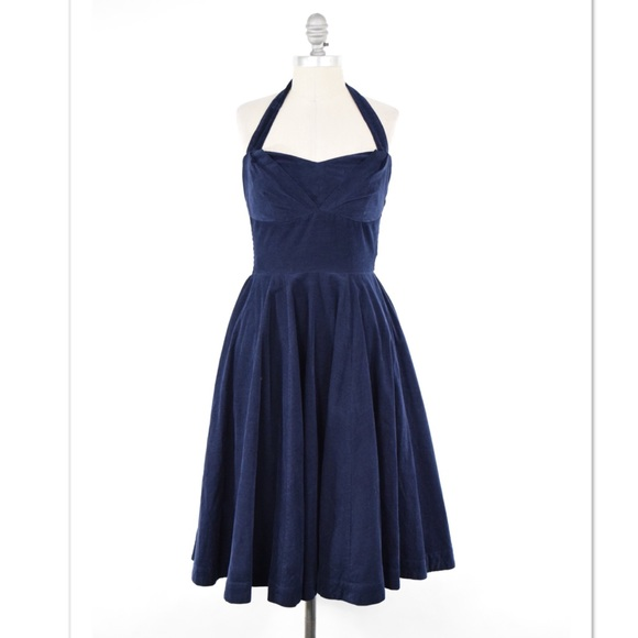 39d95bc1a1d9 Anthropologie Dresses & Skirts - Girls from Savoy micro-cord retro halter  dress