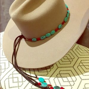 Accessories - Handmade Hat Band that doubles as a necklace