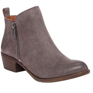 Lucky Brand Grey Basel Bootie