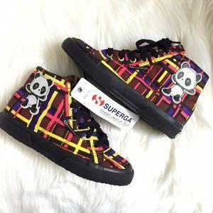 Superga Shoes - Superga x Domingo Zapata Panda Matrix Sneakers