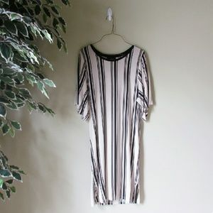 Monki // Striped Tunic/Dress