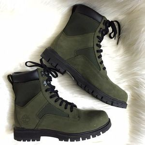 """Timberland Other - Timberland Radford Utility Olive Green 7"""" Boots"""