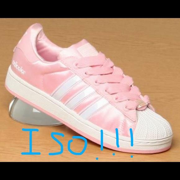 Pink Pink Satin Iso Adidas Superstars Iso wZN8Pk0OXn