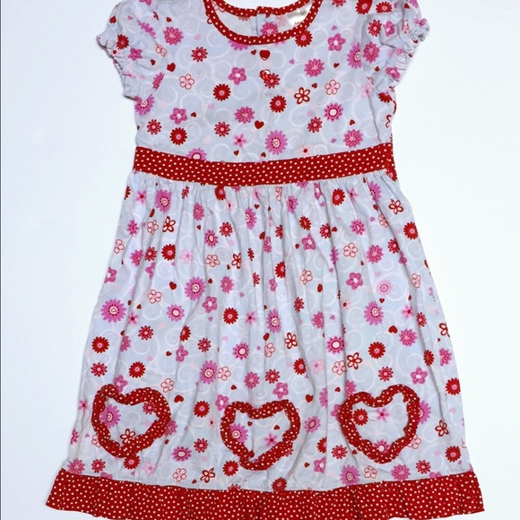 Hanna Andersson - Hanna Andersson Heart Dress - 110 (5-6x) from ...
