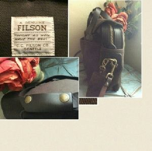 Filson Other - Filson Seattle Leather Briefcase Laptop Bag