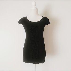 INC International Concepts Sweaters - INC International Concepts Black Tunic