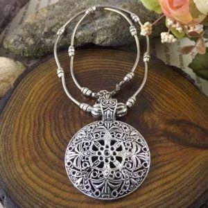 Jewelry - Round shield pendant