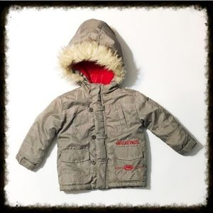 Ecko Unlimited Other - Ecko Unlimited Winter Coat with Faux Fur Hood 24M