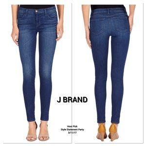 J Brand Denim - J Brand Super Skinny Mid-Rise Jeans