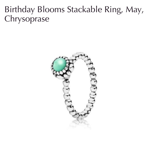 pandora ring may birthstone