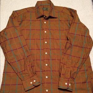 Gitman Brothers Other - Gitman Bros. Button Front size Large Brown/Rust