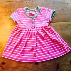 Hanna Andersson Striped Dress Size 80