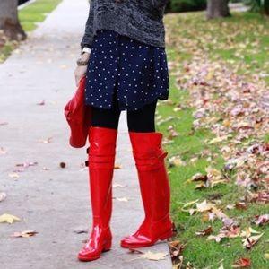 Fuchsia OTK rain boots