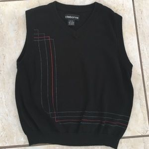 Claiborne Other - Boys black vest