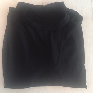 Missguided + Tops - Black choker blouse