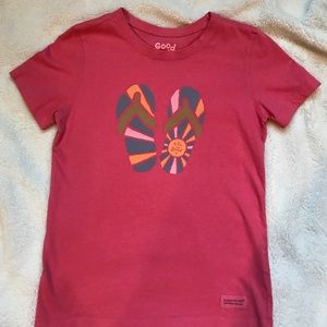 Other - Girls size 7/8 Life is Good T-shirt