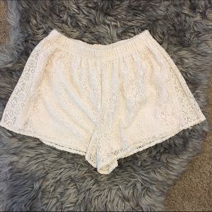 Lush Pants - ✨ Lush - Lace Shorts