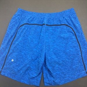 lululemon athletica Shorts - Lululemon Men's Pace Breaker Shorts in BAD ASS