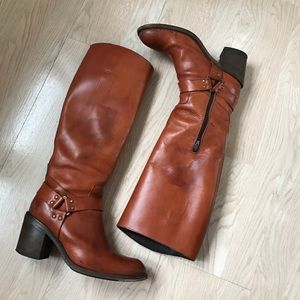 Moma Shoes - Moma Fine Italian Leather Boots Size 8