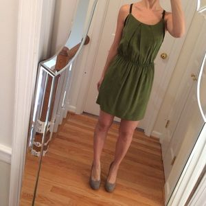 Eight Sixty Dresses & Skirts - Green and black mini dress