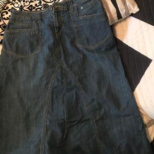 Gina Bacconi Dresses & Skirts - Long denim skirt